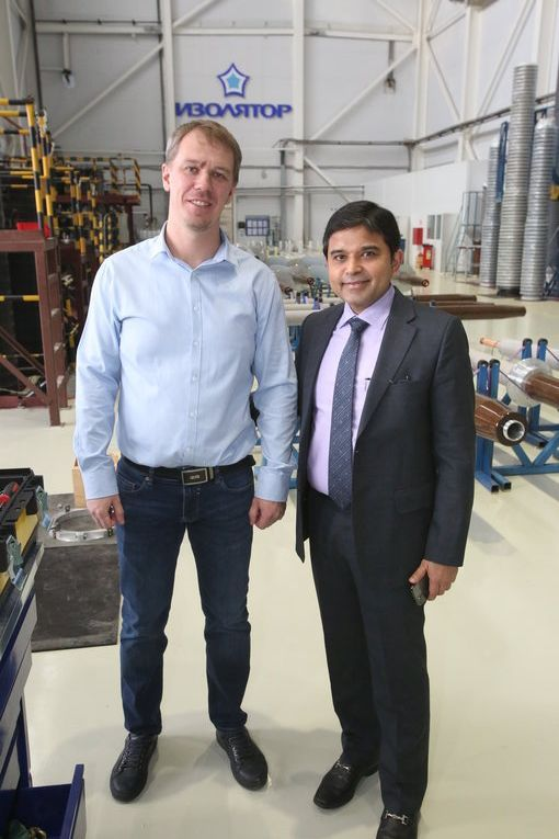 Mehru Electrical & Mechanical Engineers (P) Ltd. Specialists Introduced to High-Voltage Bushings Production